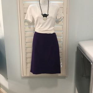 Eggplant Pencil skirt by Trina Turk NWT  Size 8
